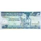 Банкнота 5 быр. 2013 год, Эфиопия.