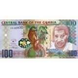 Банкнота 100 даласи, 2006 год, Гамбия.