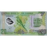 Банкнота 20 даласи, 2014 год, Гамбия.
