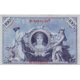 Рейхсбанкнота 100 марок. 1908 год, Германская империя.