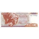Банкнота 100 драхм. 1978 год, Греция.