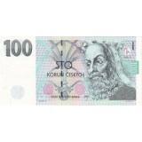 Карл IV. Банкнота 100 крон. 1997 год, Чехия.