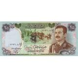 Банкнота 25 динаров. 1986 год, Ирак.