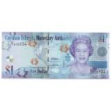 Банкнота 1 доллар. 2010 год, Каймановы острова.