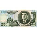 Банкнота 1000 вон. 2006 год, Северная Корея.