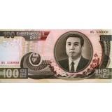 Банкнота 100 вон. 1992 год, Северная Корея.