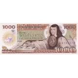 Банкнота 1000 песо. 1985 год, Мексика.