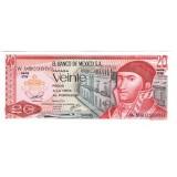 Банкнота 20 песо. 1977 год, Мексика.