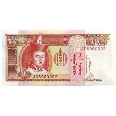 Банкнота 5 тугриков. 2008 год, Монголия.