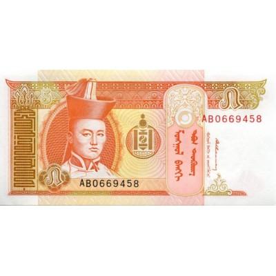 Банкнота 5 тугриков, Монголия.