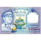 Банкнота 1 рупия, Непал. (Вар. II)