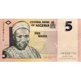 Банкнота 5 найр. 2006 год, Нигерия.