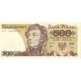 Тадеуш Костюшко. Банкнота 500 злотых, 1982 год, Польша.