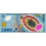 Банкнота 2000 лей. 1999 год, Румыния.