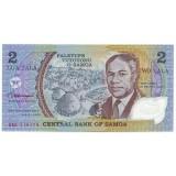 Банкнота 2 тала, Самоа.