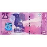 Банкнота 25 рупий, 2016 год Сейшельские острова.