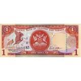 Банкнота 1 доллар. 2006 год, Тринидад и Тобаго.