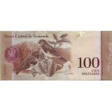 Банкнота 100 боливаров. 2012 год, Венесуэла.