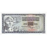 Банкнота 1000 динаров, 1981 год, Югославия.