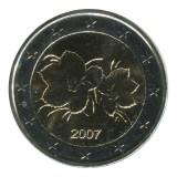 Монета 2 евро, 2007 год, Финляндия.