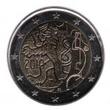 150 лет финской марке. Монета 2 евро, 2010 год, Финляндия.