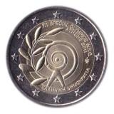 Всемирные Специальные Олимпийские игры. Монета 2 евро, 2011 год, Греция.