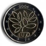 Расширение Европейского Союза. Монета 2 евро, 2004 год, Финляндия.