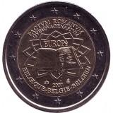 Римский договор. Монета 2 евро. 2007 год, Бельгия.
