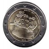 Собственное правительство. Монета 2 евро. 2013 год, Мальта.