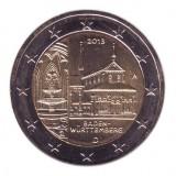 Монастырь Маульбронн, земля Баден-Вюртемберг. 2 евро, 2013 год, Германия.