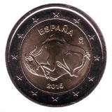 Пещера Альтамира. Монета 2 евро, 2015 год, Испания.