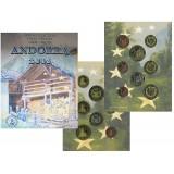 Набор пробных евро Андорры 2003 года в буклете