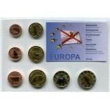 Набор пробных евро Джерси 2006 года в блистере