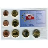 Набор пробных евро Гренландии 2004 года в блистере
