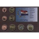 Набор пробных евро  Хорватии 2006 года в блистере