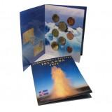 Набор пробных евро Исландии 2004 года в буклете