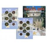 Набор пробных евро Мальты 2004 года в буклете (Вариант 1)