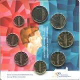 Набор монет евро в планшетке. 2014 год, Нидерланды.