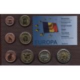 Набор пробных евро  Андорры 2006 года в блистере