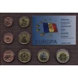 Набор пробных евро  Андорры 2013 года в блистере