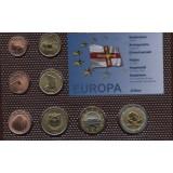 Набор пробных евро Джетоу 2009 года в блистере