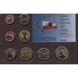 Набор пробных евро Гибралтара 2006 года в блистере