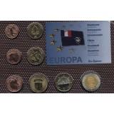 Набор пробных евро Иль Эпаре 2010 года в блистере