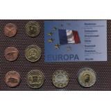 Набор пробных евро  Майотта 2009 года в блистере