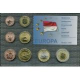Набор пробных евро Монако 2012 года в блистере