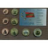 Набор пробных евро ПМР Приднестровской Молдавской Республики 2012 года в блистере