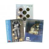 Набор пробных евро Словении 2004 года в буклете