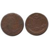5 копеек 1768 года ЕМ Российская Империя