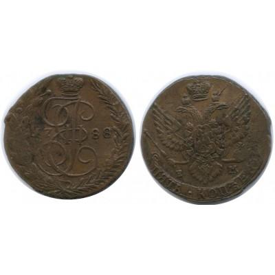 5 копеек 1788 года ЕМ Российская Империя