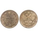 Монета 5 копеек  1886 года (СПБ-АГ) Российская Империя